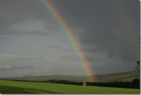 newgrange double rainbow