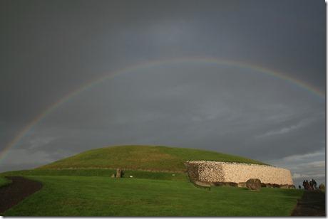 newgrange rainbow