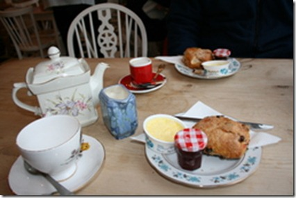 Barry Island Cream Tea