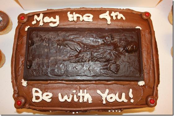 han solo cake