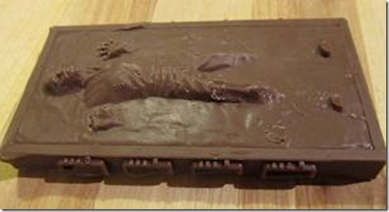 han solo in chocolate