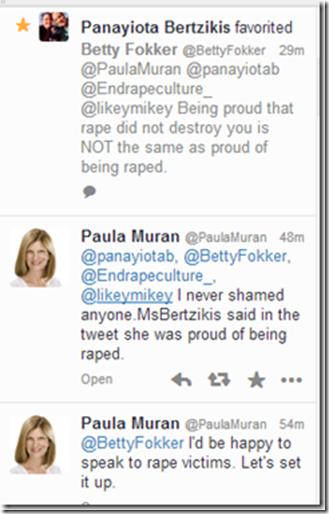 Paula Muran claims pride